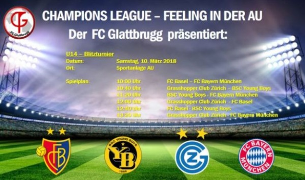 Champions League - Feeling in der AU